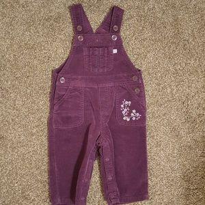 Carter's 9 months Purple Overalls